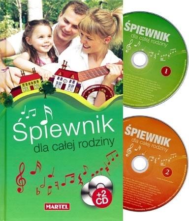 Śpiewnik dla całej rodziny z dwoma płytami CD