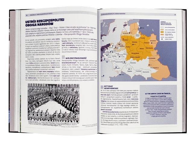 Rzeczpospolia Obojga Narodów - Atlas historii polski