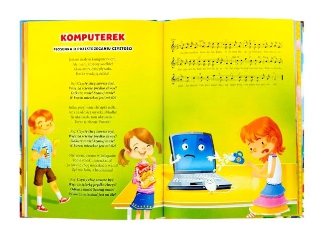 Komputerek. Piosenka o przestrzeganiu czystości - Dobre wychowanie z piosenką - z płytą CD gratis