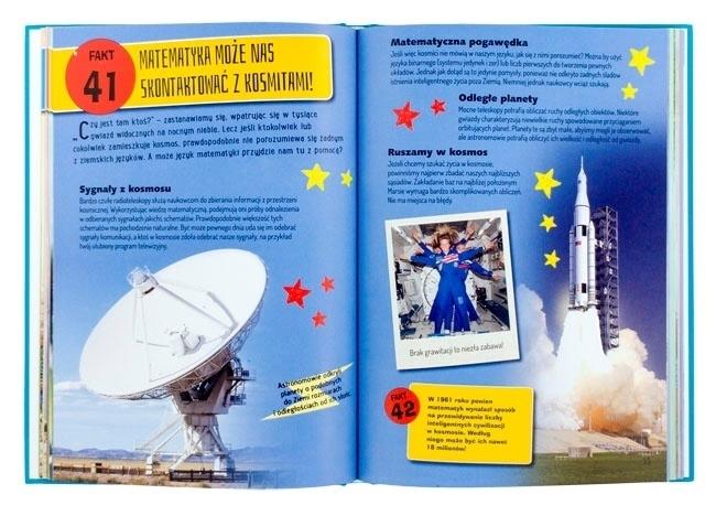 Sygnały z kosmosu, odległe planety - Matematyka jest super! 101 faktów, o których trzeba wiedzieć