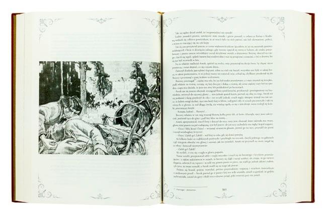Chłopi - ilustracje w książce - Władysław St. Reymont