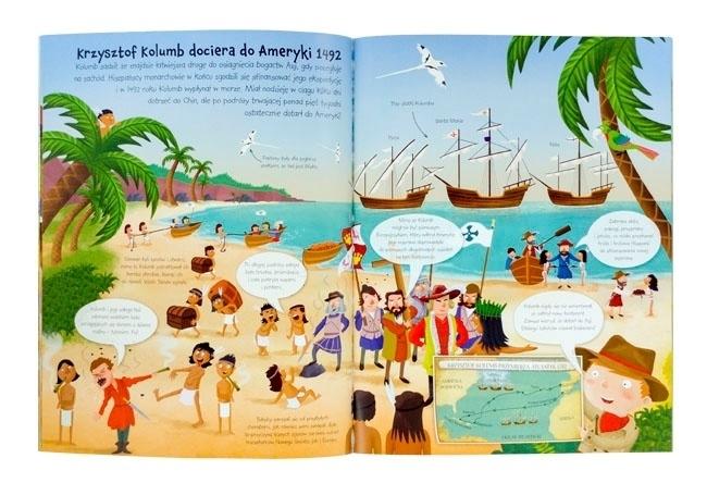 Odkrywcy - Krzysztof Kolumb dopływa do Ameryki - 1492 rok