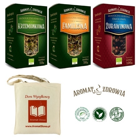 Herbatki ekologiczne Aromatu Zdrowia - zestaw klubowy