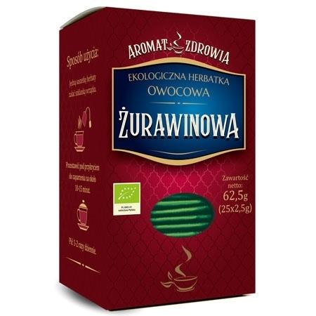 Herbatka żurawinowa (w saszetkach fix) 62,5g