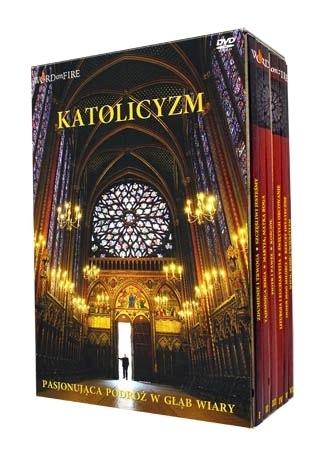 Katolicyzm. Pasjonująca podróż w głąb wiary. Książka + filmy DVD