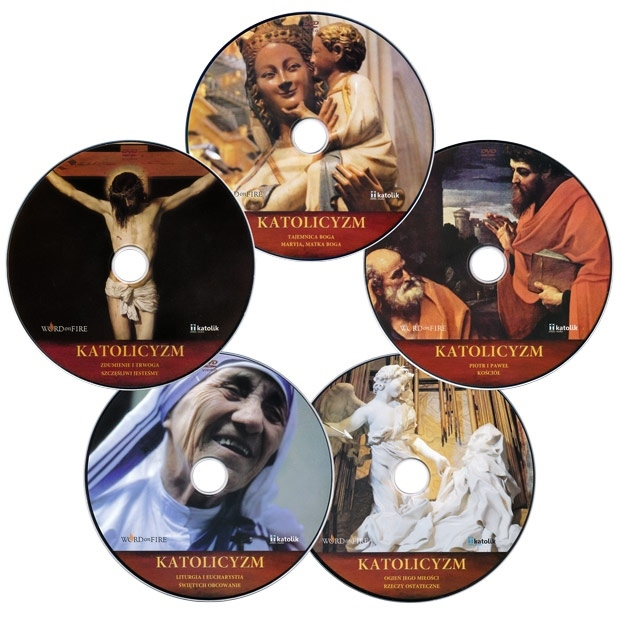 Katolicyzm. Pasjonująca podróż w głąb wiary. Płyty DVD