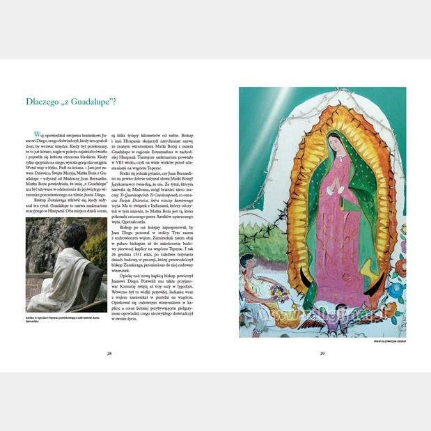 Maryja z Guadalupe - mural na półwyspie Jukatan