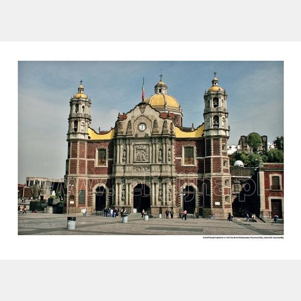 Maryja z Guadalupe - Kościół Templo Expiatorio a Cristo Rey, zwany dziś starą bazyliką