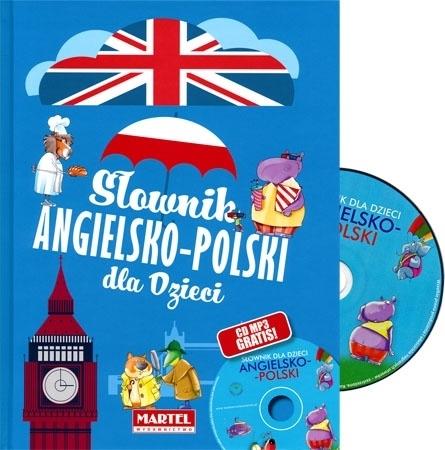 Słownik angielsko-polski dla dzieci z płytą CD - Sendecka Katarzyna