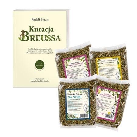 Kuracja Breussa. Książka i zioła - pakiet