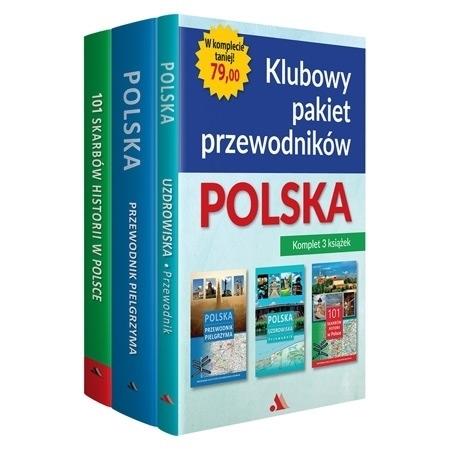 Klubowy pakiet przewodników - Polska. Komplet 3 książek