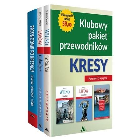 Klubowy pakiet przewodników - Kresy. Komplet 3 książek