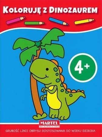 Koloruję 4+ z małpką