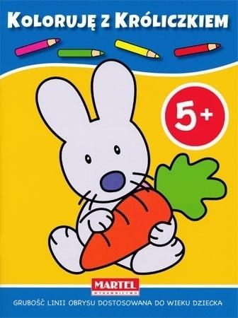 Koloruję 5+ z króliczkiem