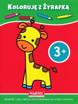 Koloruje 3+ z żyrafką