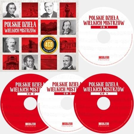 Polskie dzieła wielkich mistrzów. Kolekcja 4 płyt CD : Muzyka