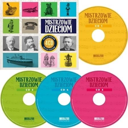Mistrzowie dzieciom. Kolekcja 4 płyt CD