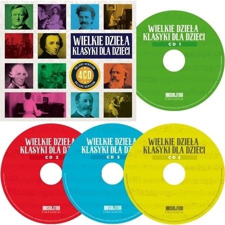 Wielka kolekcja klasyki dla dzieci. Kolekcja 4 płyt CD
