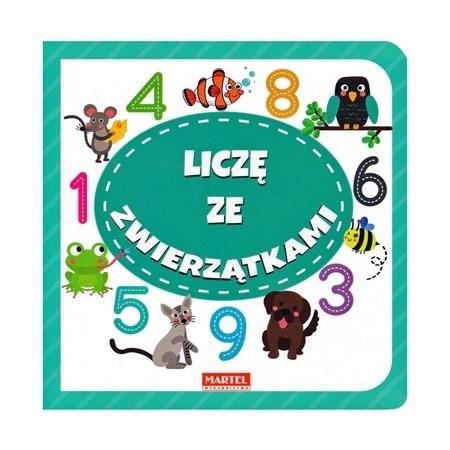 Liczę ze zwierzątkami - Joanna Garncarek :  Dla dzieci