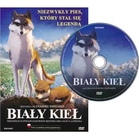Biały Kieł. Niezwykły pies, który stał się legendą. Film DVD - reż. Alexandre Espigares