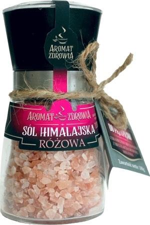 Sól himalajska różowa (w młynku) 180g