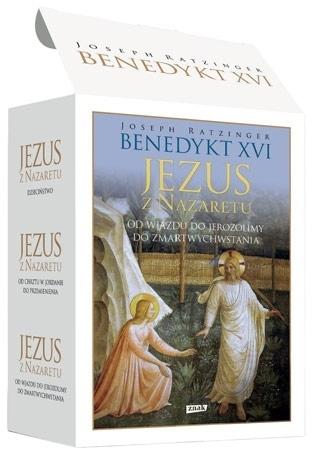 Jezus z Nazaretu. Komplet 3 książek - Benedykt XVI : Biografia