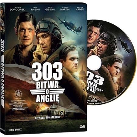 303. Bitwa o Anglię. Film DVD - reż. David Blair