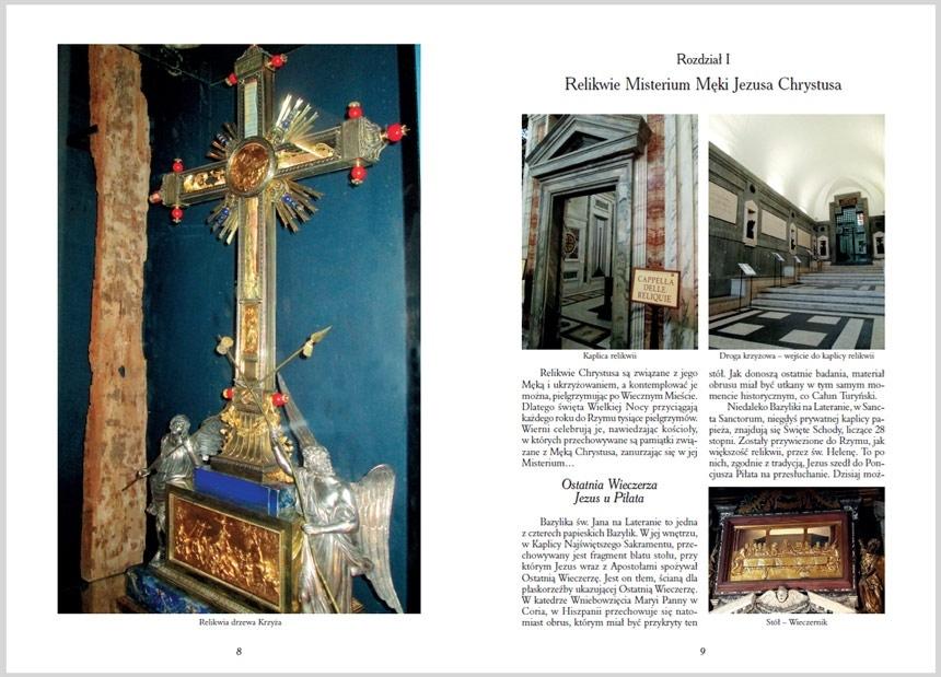 Znaki Boga - Aleksandra Zapotoczny : Relikwie, Cuda Eucharystyczne, Pamiątki po świętych
