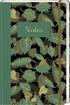 """Notatnik """"Zielone liście"""" z motywami roślinymi"""