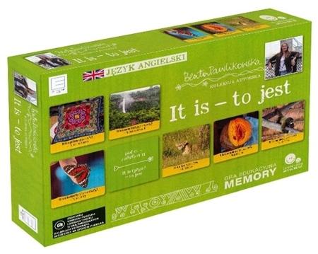 It is - to jest. Gra edukacyjna memory. Autorska kolekcja gier słynnej podróżniczki Beaty Pawlikowskiej