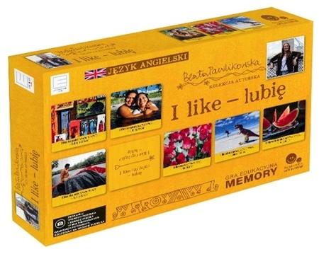 I like - lubię. Gra edukacyjna memory. Autorska kolekcja gier słynnej podróżniczki Beaty Pawlikowskiej