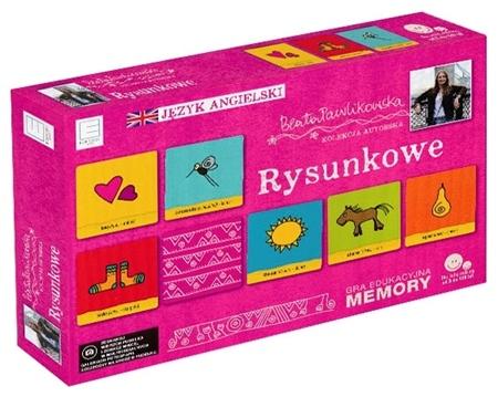 Rysunkowe. Gra edukacyjna memory. Autorska kolekcja gier słynnej podróżniczki Beaty Pawlikowskiej