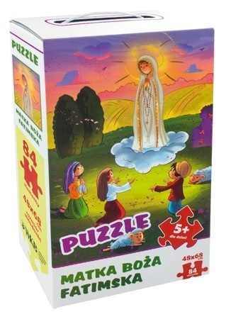 Puzzle Matka Boża Fatimska : Dla dzieci