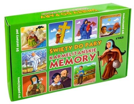 Święty do pary. Karmelitańska gra memory : Dla dzieci