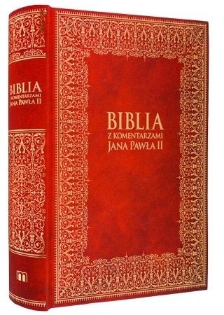 Pismo Święte Nowego Testamentu z komentarzami Jana Pawła II : Biblia