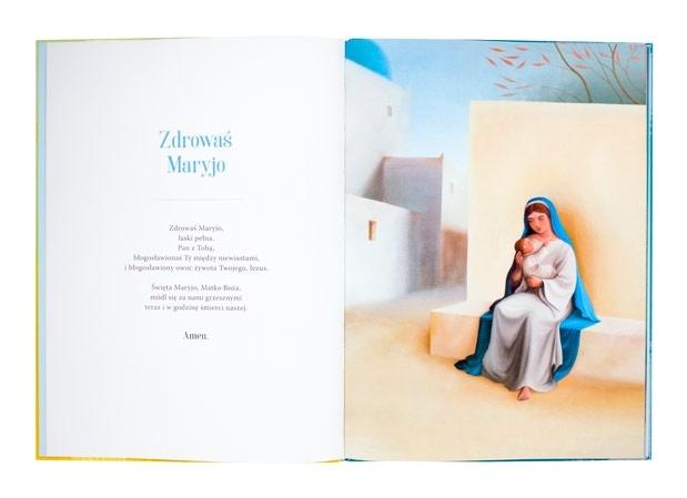 Modlitwy - Eric Puybaret (ilustr.) : Modlitewnik dla dzieci