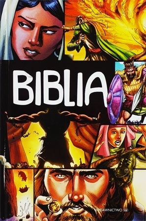 Biblia - komiks : Pismo Święte dla dzieci