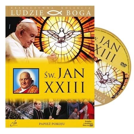 Św. Jan XXIII. Papież pokoju. Film DVD