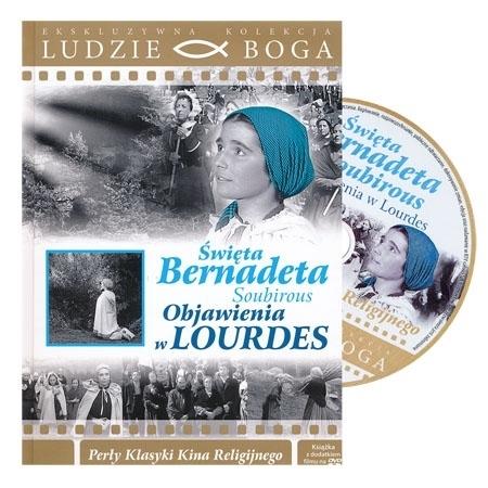 Święta Bernadeta Soubirous. Objawienia w Lourdes. Film DVD