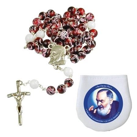 Jubileuszowy różaniec ku czci św. Ojca Pio : Dewocjonalia