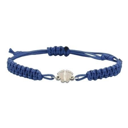 Jestem za życiem - bransoletka obrońców życia - niebieska