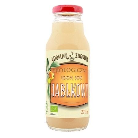 Ekologiczny tłoczony sok jabłkowy, 270 ml