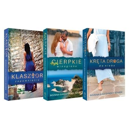 Pakiet Grecki. Komplet 3 książek - Beata Zdziarska : Powieść