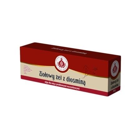 Ziołowy żel z diosminą. Kosmetyk, 50 g : Preparaty ziołowe