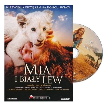 Mia i Biały Lew. Film DVD - reż. Gilles de Maistre : Dla dzieci