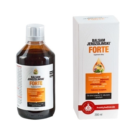 Balsam Jerozolimski Forte. Suplement diety, 200 ml : Preparaty ziołowe