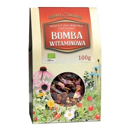 Ekologiczna herbatka Bomba witaminowa, 100 g : Zioła i rośliny lecznicze