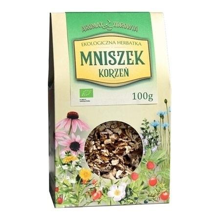 Ekologiczna herbatka z korzenia mniszka, 100 g : Zioła i rośliny lecznicze