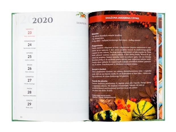 Zdrowie na cały rok 2020. Terminarz - Zbigniew T. Nowak : Kalendarz - zawartość
