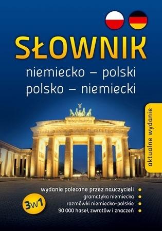 Słownik niemiecko-polski, polsko-niemiecki 3w1 (SP/liceum/technikum) : Podręczniki szkolne